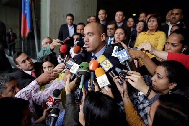El gobernador del estado venezolano de Miranda, Héctor Rodríguez