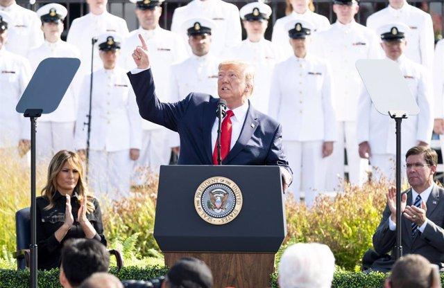 El presidente estadounidense, Donald Trump.