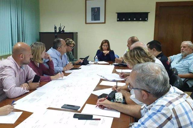Reunión de la comisión de coordinación de emergencias
