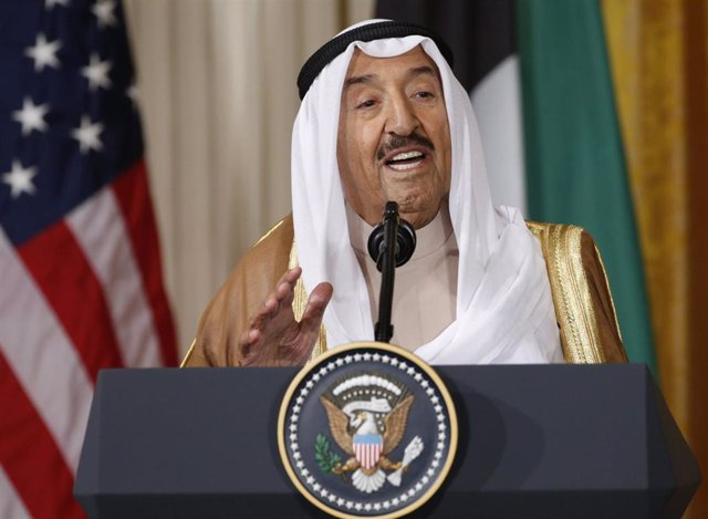 El emir de Kuwait, Sabá al Ahmad al Jaber