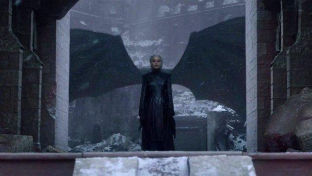 Daenerys Targaryen en el final de Juego de tronos