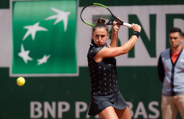Tenis.- Sara Sorribes cae eliminada en los cuartos de final de Hiroshima ante la