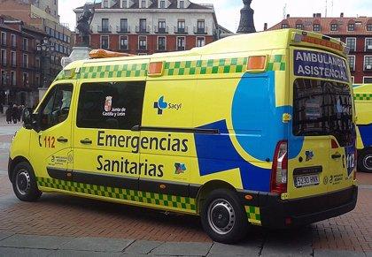 Un varón de 33 años resulta herido en un accidente de tráfico en Corrales (Zamora)