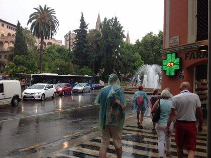 Cerrado el acceso a todos los parques de Palma con motivo de las lluvias