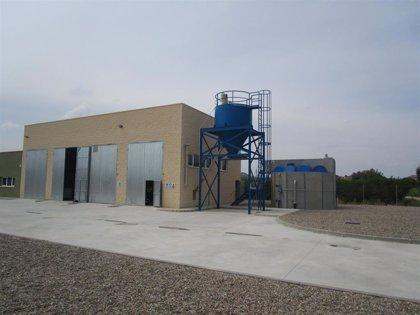 La depuradora de Maella entra en funcionamiento con una capacidad para 3.675 habitantes equivalentes