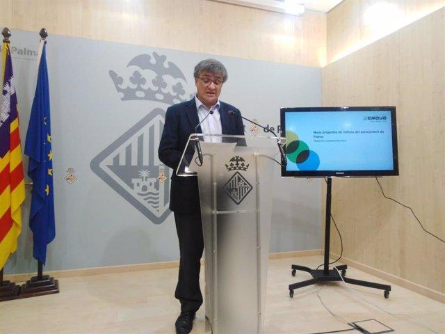 El regidor de Medio Ambiente del Ayuntamiento de Palma, Ramon Perpinyà