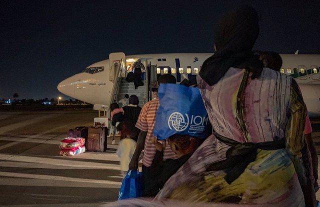 Programa de retorno voluntario de migrantes desde Libia