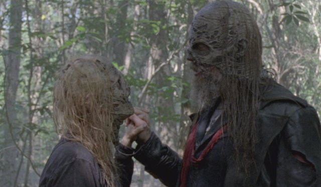 Los Susurradores en The Walking Dead