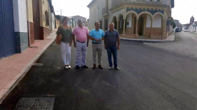 Visita ala calle Virgen de la Cruz
