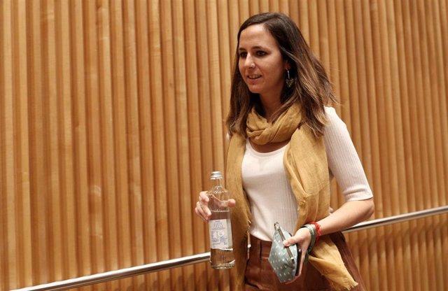 La portavoz adjunta de Unidas Podemos en el Congreso, Ione Belarra