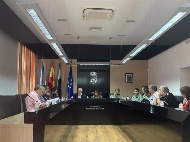 Junta Local de Seguridad de Navalmoral de la Mata