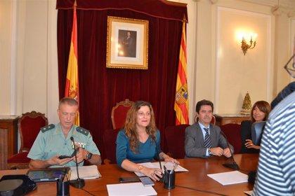 La Guardia Civil celebra en Huesca los actos centrales conmemorativos de la festividad de su patrona