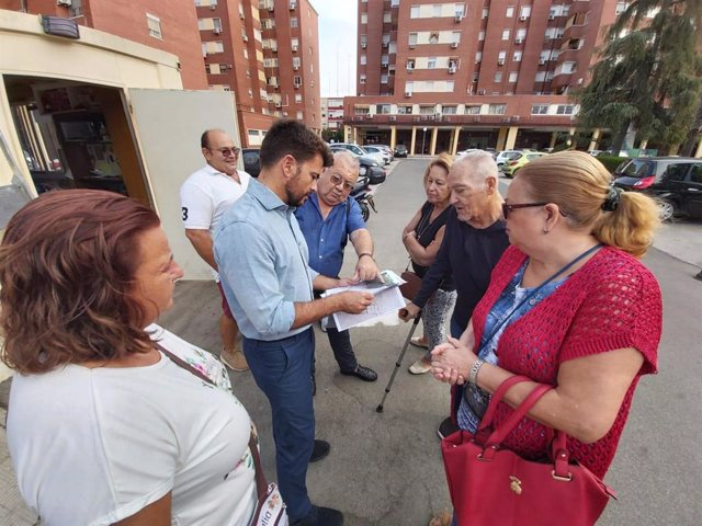 Beltrán Pérez visita el Juncal y el Plantinar