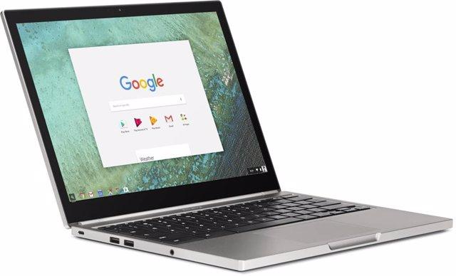 Imagen de ordenador portátil con Chrome OS