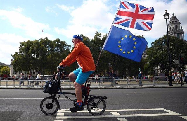 Protesta contra el Brexit en Londres