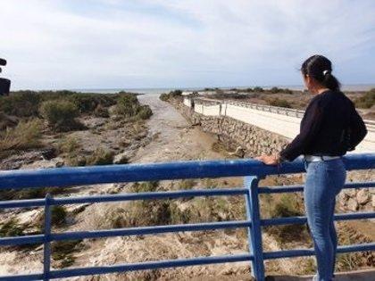 Bosquet visita algunos puntos afectados por las lluvias en Almería para conocer de primera mano la situación