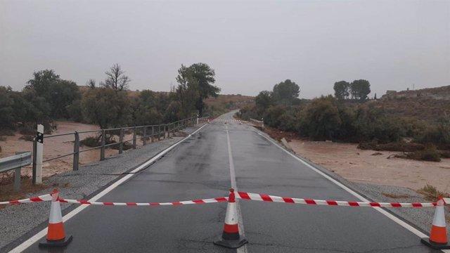 Efectos de la lluvia en la provincia de Granada