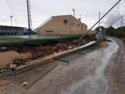 """El Govern pide """"prudencia"""" ante el temporal en Baleares, especialmente en las carreteras"""