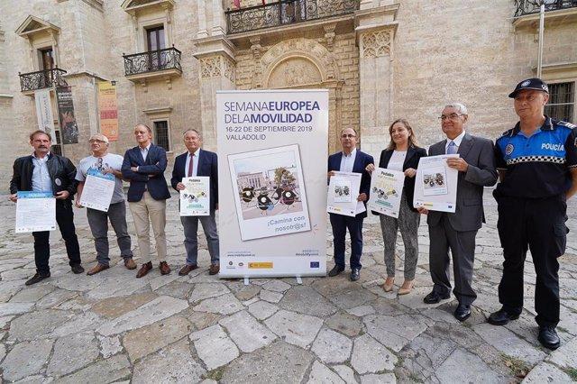 Presentación de las actividades de la Semana de la Movilidad en Valladolid.