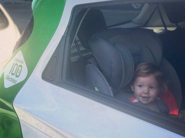 Zity incorpora sillas infantiles en 200 vehículos de su flota