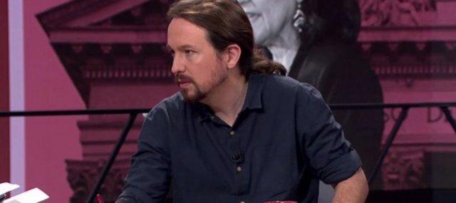 Entrevista en laSexta al líder de Podemos, Pablo Iglesias