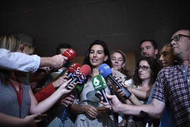 Imagen de recurso de la portavoz de Vox en el Asamblea de Madrid, Rocío Monasterio