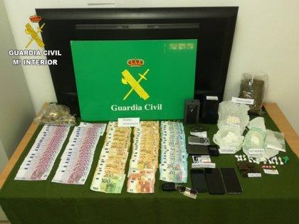 Detenidas tres personas en Castellón por robar más de 150.000€ y por tráfico de drogas