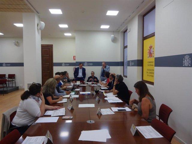 Reunión de la Comisión Flujos Migratorios en Logroño