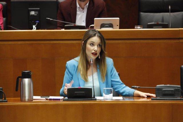 La consejera de Ciencia, Universidad y Sociedad del Conocimiento del Gobierno de Aragón, Maru Díaz.