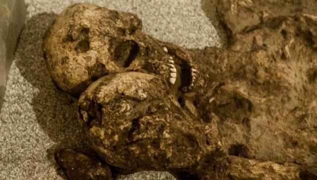 El esmalte dental revela que los 'Amantes de Módena' eran dos hombres