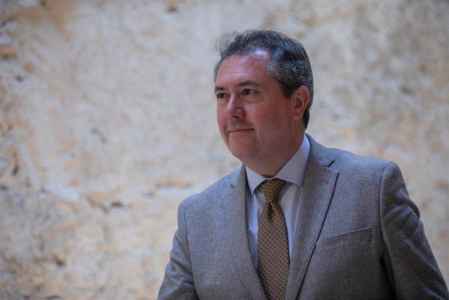 El alcalde de Sevilla, el socialista Juan Espadas, en una imagen de archivo
