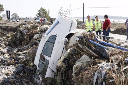 """Presidente de Diputación de Almería: """"Hay carreteras cortadas al tráfico porque, literamente, ya no existen"""""""