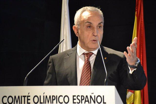 """Baloncesto/Mundial.- Alejandro Blanco: """"Sólo se puede expresar desde el corazón"""""""