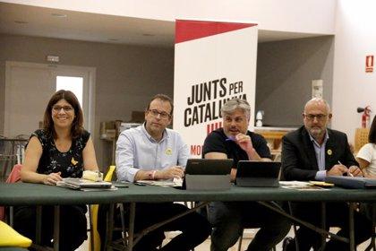 """JxCat diu que la resposta a la sentència del procés serà """"unitària, forta i tan alta com la ciutadana"""" si és condemnatòria"""