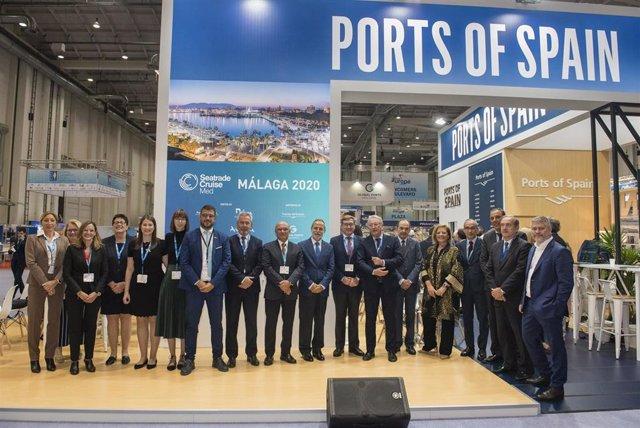 Presentación a nivel internacional de la Seatrade Med que se celebra en Málaga en septiembre de 2020