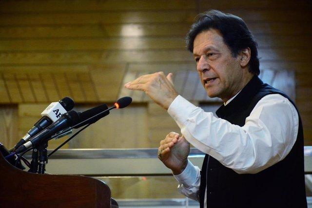 Imran Jan, primer ministro de Pakistán