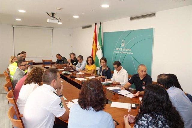 [Grupohuelva] Nota Y Foto Junta (Reunión Valoración Final Plan Venida Rocío 2019)