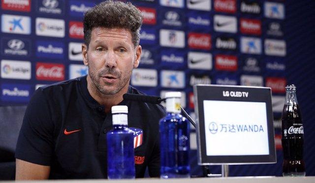 """Fútbol.- Diego Pablo Simeone: """"Estamos como hablamos hace tres o cuatro meses, n"""
