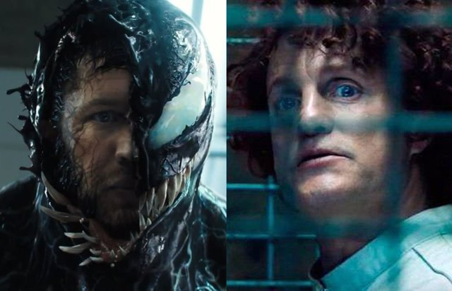 Tom Hardy y Woody Harrelson en Venom