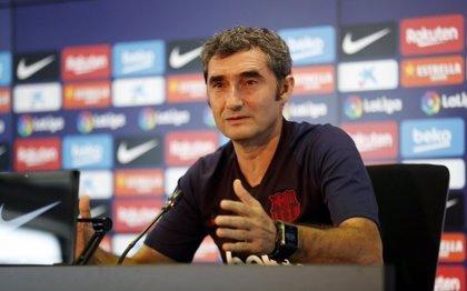 """Valverde: """"Messi se expresó de manera natural y no tengo ninguna preocupación por ello"""""""