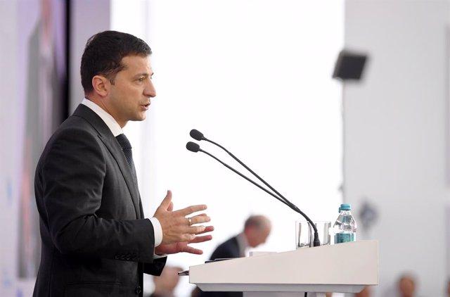Ucrania.- El presidente de Ucrania confirma preparativos para un nuevo canje de
