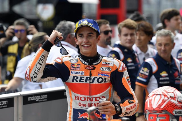 MARQUEZ Marc (Spa) Repsol Honda Team, Honda, ambiance, portrait during MotoGP race of myWorld Motorrad Grand Prix von Osterreich at Red Bull Ring, in Spielberg, from August 9 to 11, 2019 in Austria - Photo Studio Milagro / DPPI
