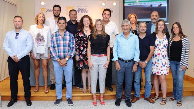 Sevilla.- Presentan en la UPO la Red Estatal de Investigación Aplicada sobre Seg