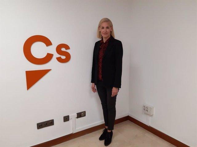 La portavoz de Ciudadanos (Cs) en Palma, Eva Pomar.