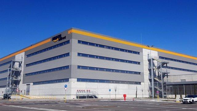 Centre logístic d'Amazon al Prat de Llobregat (Barcelona)