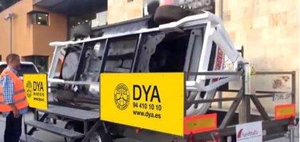 DYA instalará en fiestas de Galdakao un simulador de vuelco para concienciar del peligro de mezclar alcohol y conducir