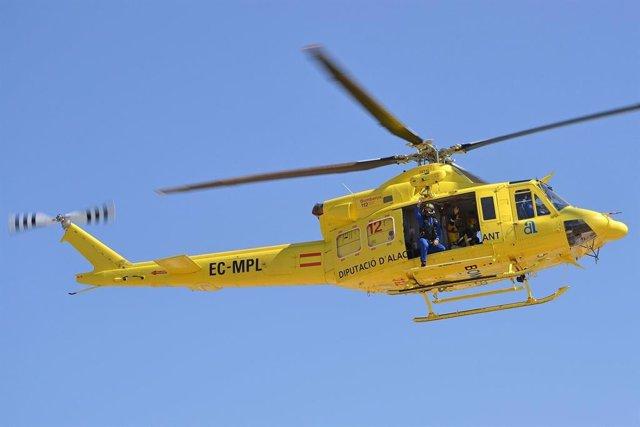 Helicóptero del Consorcio, imagen de archivo.