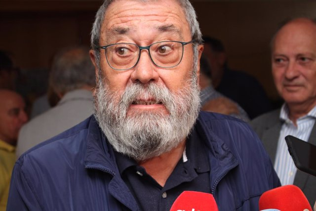 Cándido Méndez a Soria en la celebració dels 130 anys d'UGT