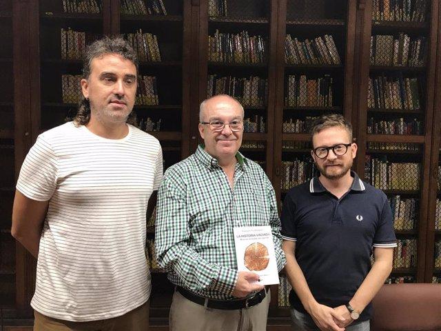 Presentación del libro 'La historia vaciada' en la Biblioteca de Cort.