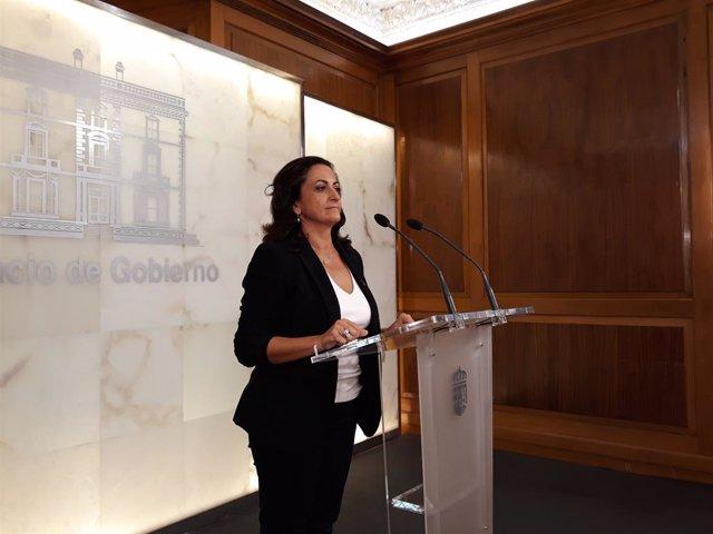 El Rey recibe el miércoles a la presidenta de La Rioja, Concha Andreu